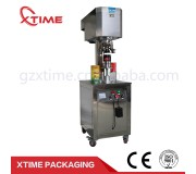 CE approved Semi-automatic can body non-rotary can sealing machine