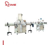 Automatic Can Sealing And Labeling Machine