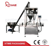 Automatic Powder Filling Machine for milk powder filling,since 1999 , over 10 years experience in doing packaging equipment