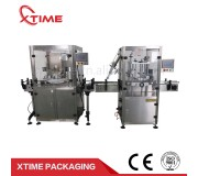 High speed automatic can seaming machine+automatic capping machine