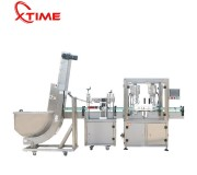 Plastic screw cap Screw capping Machine